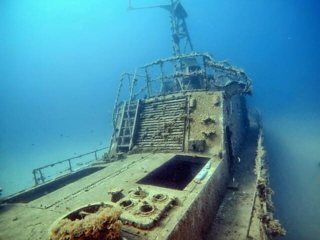 miejsca nurkowe Cypr