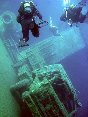 The Zenobia Wreck